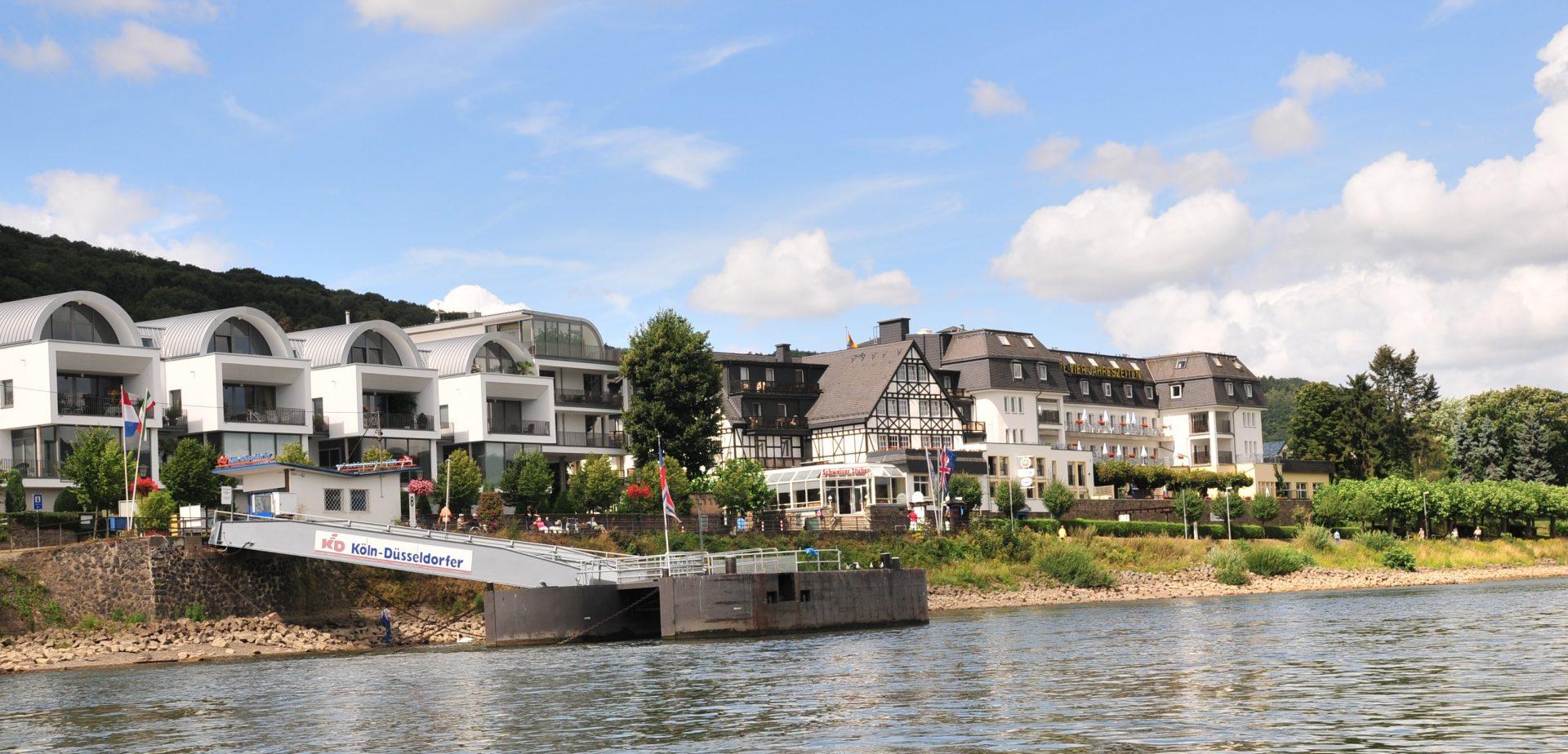 Ihr Hotel Am Rhein Rheinhotel Vier Jahreszeiten