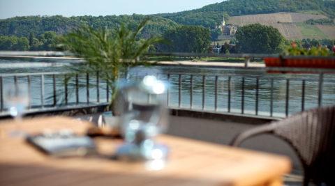 Rheinhotel Vier Jahreszeiten - Rheinterasse